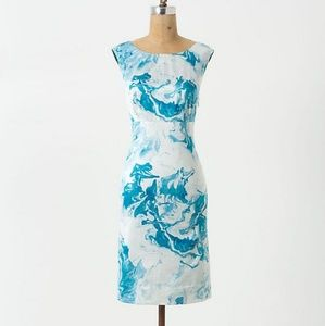 Maeve Anthropologie Marbled Waters Dress